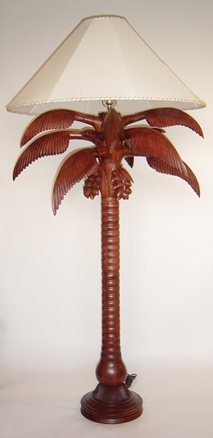 All products coconut palm tree floor lamp view images aloadofball Gallery
